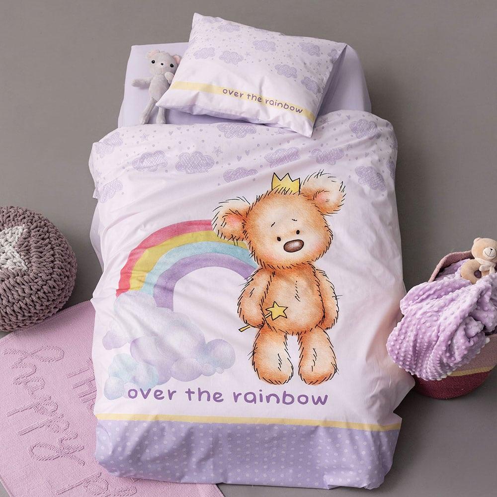 Σεντόνια Βρεφικά Σετ 3τμχ HB0578 Happy Baby Lila Palamaiki Κούνιας