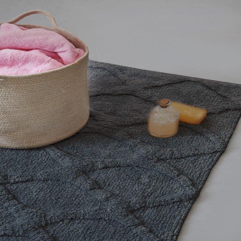Ταπέτο Μπάνιου Riona Grey Palamaiki Large