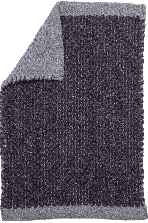 Χαλί Διπλής Όψης Facer Black Palamaiki 140X200