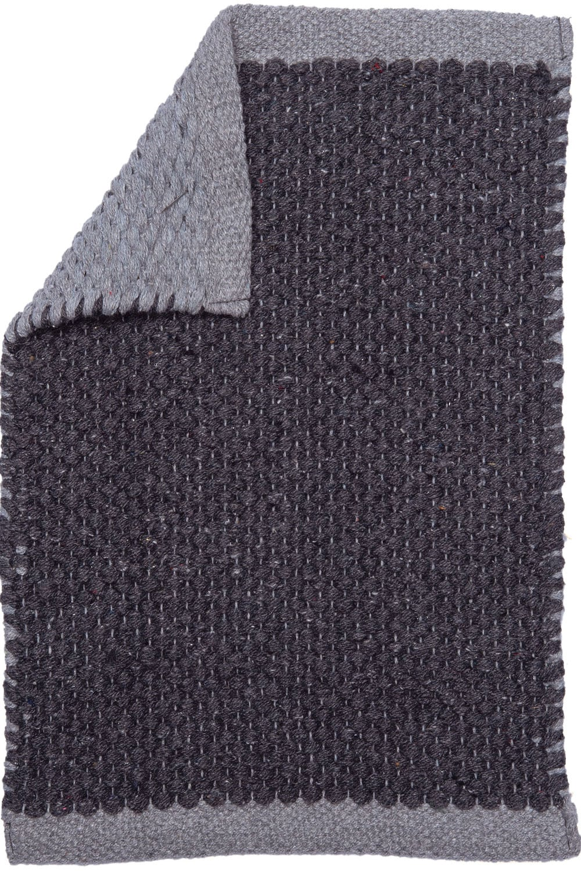 Χαλί Διπλής Όψης Facer Black Palamaiki 70X150