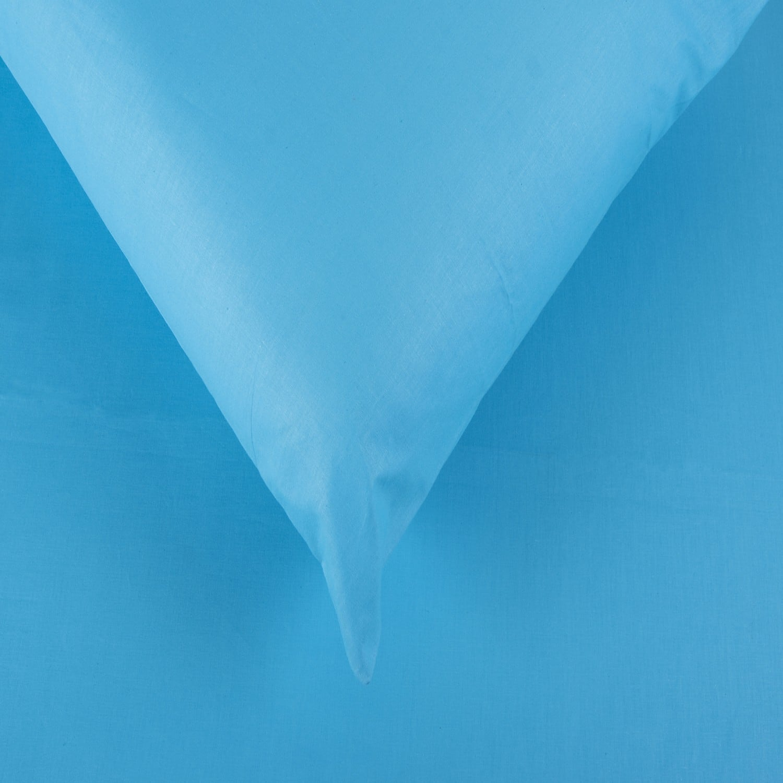 Σεντόνια Σετ 3Τμχ. Laura Μονόχρωμα Turquoise Astron Μονό 160x240cm