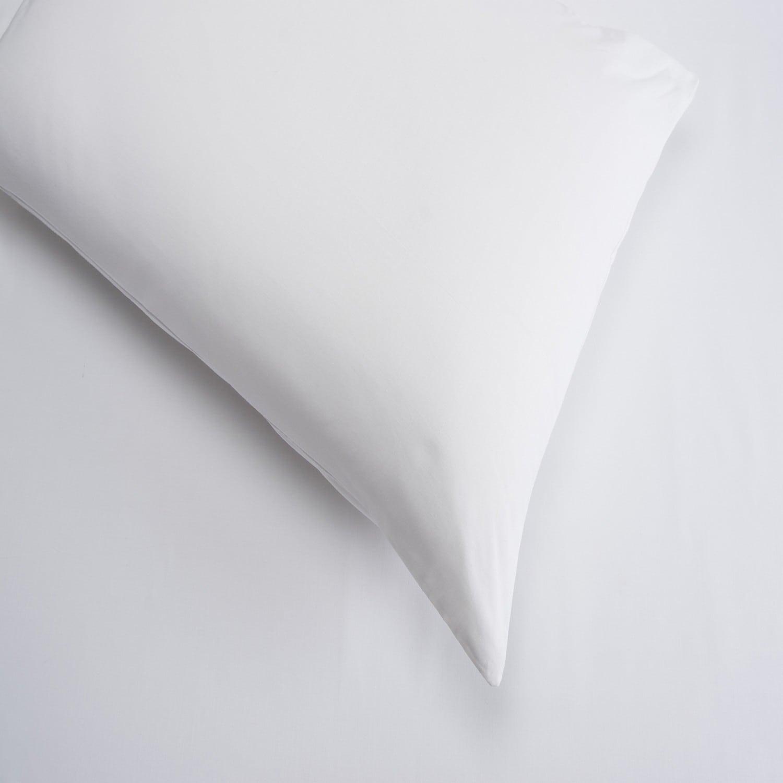 Σεντόνια Σετ 4Τμχ. Laura Μονόχρωμα White Astron Υπέρδιπλo 220x240cm