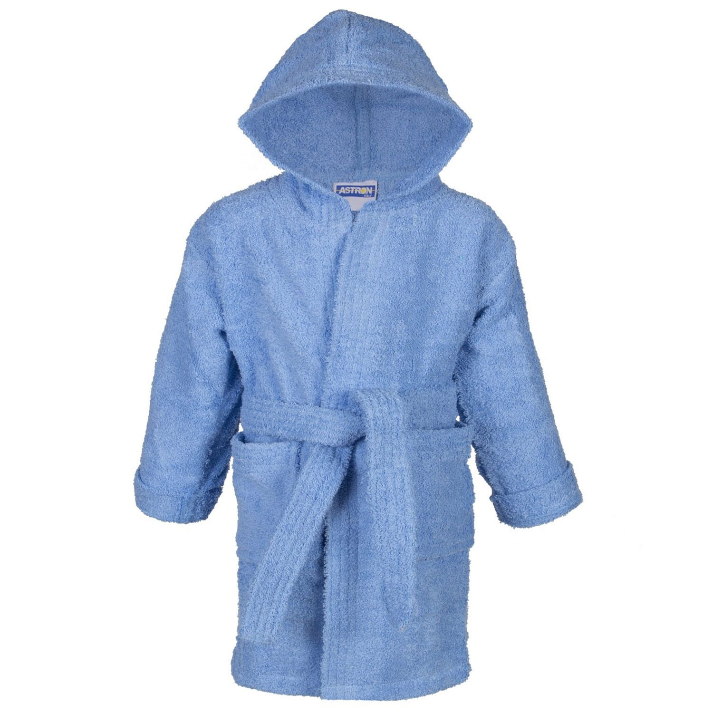 Μπουρνούζι Παιδικό Σε Κουτί Blue Astron 8-10 ετών No 10
