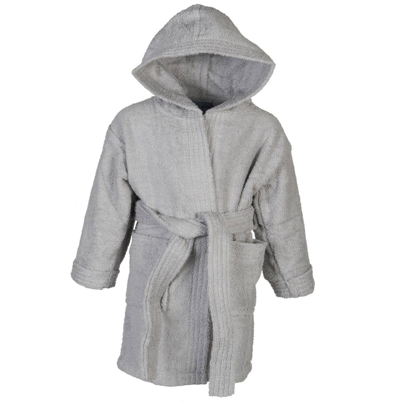 Μπουρνούζι Παιδικό Grey Astron 8-10 ετών No 10