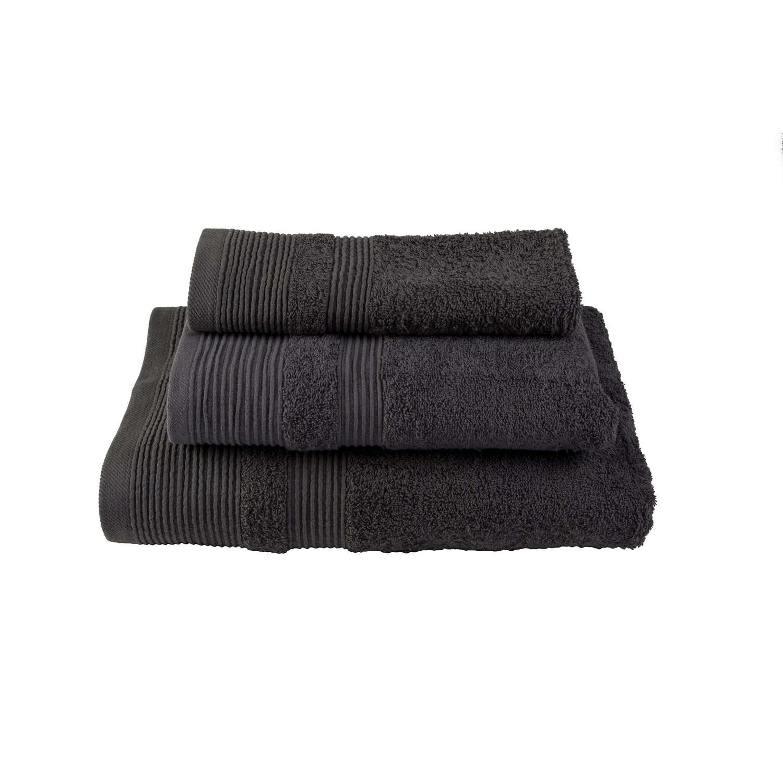 Πετσέτα Μονόχρωμη Γκρι Σκούρο Astron Σώματος 80x150cm