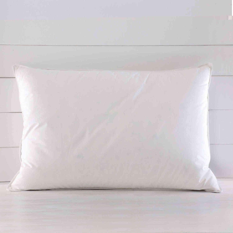 Μαξιλάρι Ύπνου Σιλικόνης Basics Λευκό Ρυθμός 50Χ70