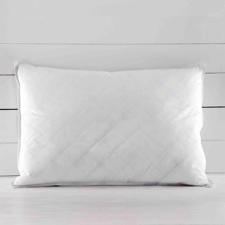 Μαξιλάρι Ύπνου Πουπουλένιο Basics Λευκό Ρυθμός 50Χ70