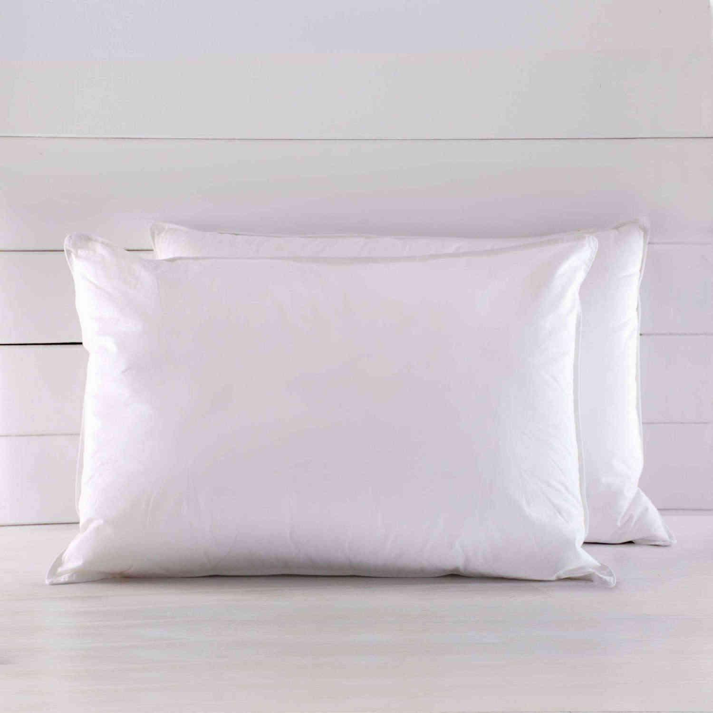 Μαξιλαρι Ύπνου Πουπουλένιο Basics Λευκό Ρυθμός 50Χ70