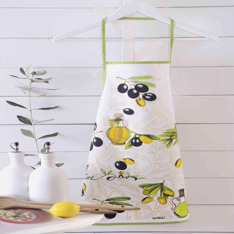 Ποδιά Αδιάβροχη Olives Ρυθμός 50x70cm
