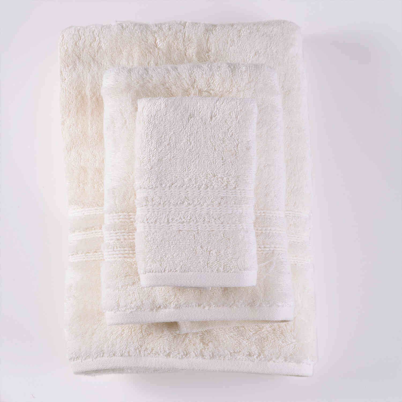 Πετσέτα Προσώπου Aria 7 Cream Ρυθμός Προσώπου 50x90cm