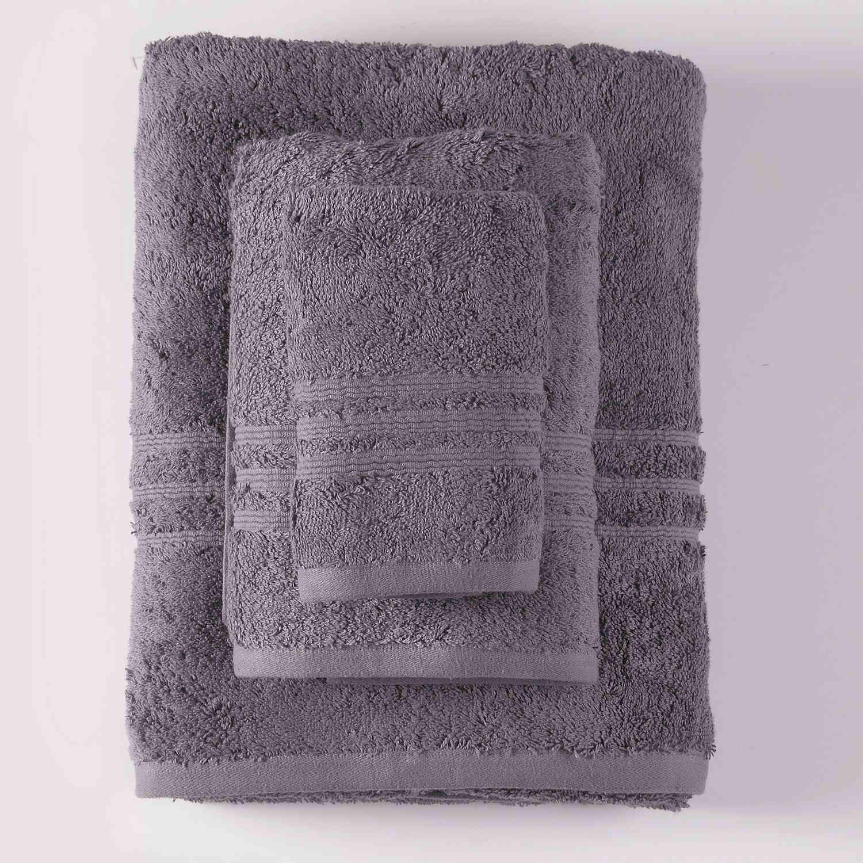 Πετσέτα Σετ Aria 1 Grey 3τμχ. Ρυθμός Σετ Πετσέτες