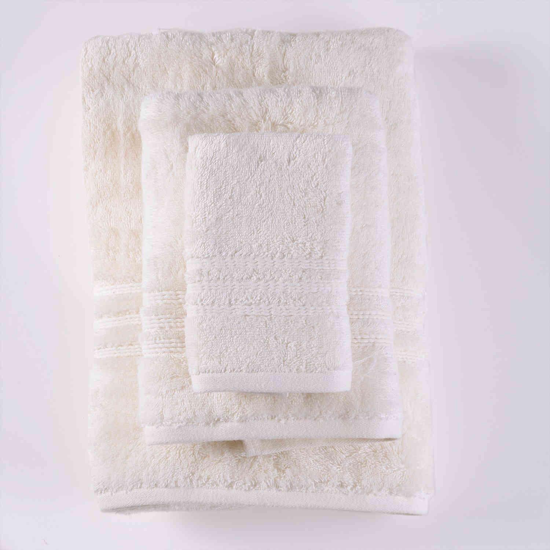 Πετσέτα Σετ Aria 7 Cream 3τμχ. Ρυθμός Σετ Πετσέτες