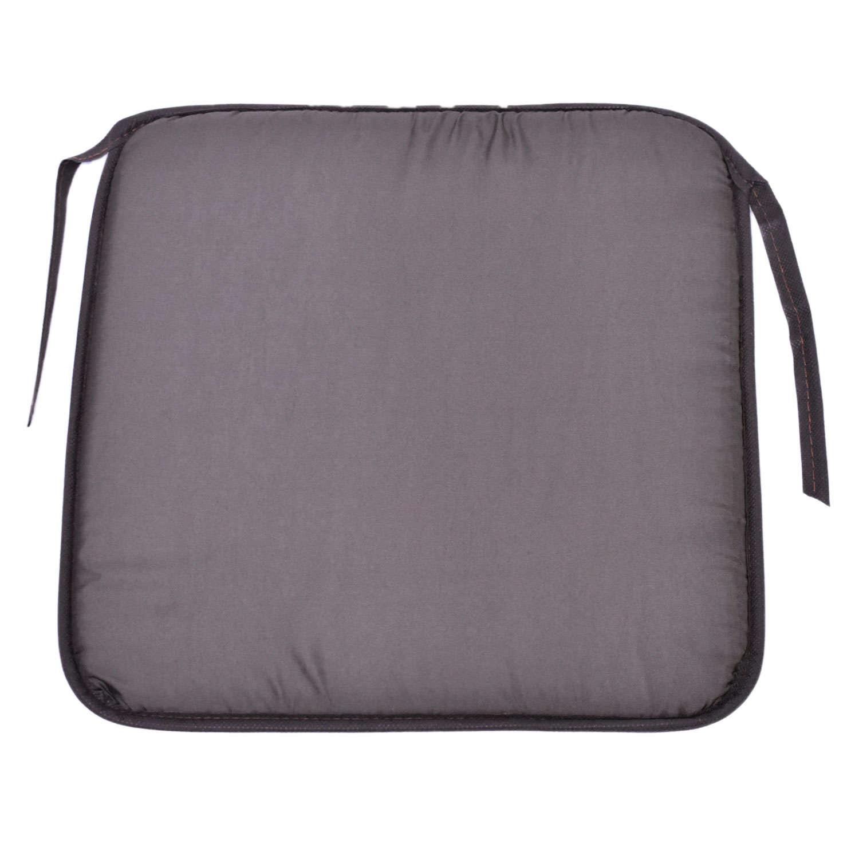 Μαξιλάρι Καθίσματος Lap Μονόχρωμο 38X38X2cm Καφέ 40Χ40