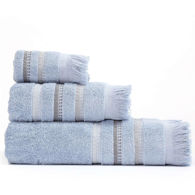 Πετσέτες Σετ 3Τμχ Limit Blue Nef Nef Σετ Πετσέτες