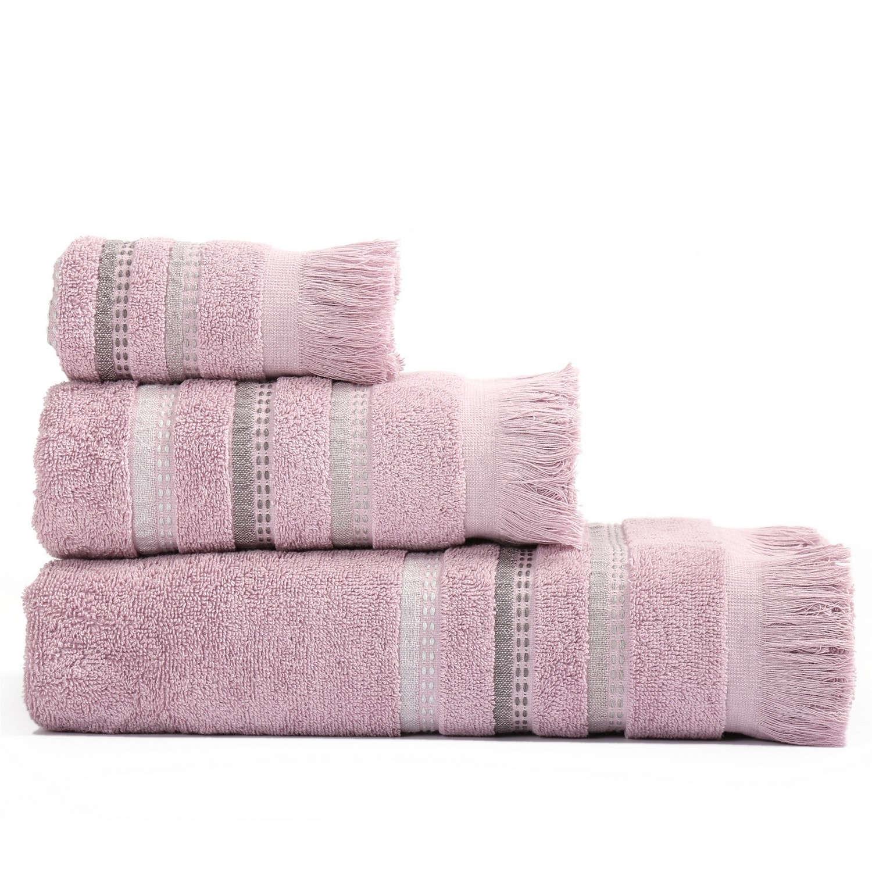 Πετσέτες Σετ 3Τμχ Limit Lavender Nef Nef Σετ Πετσέτες