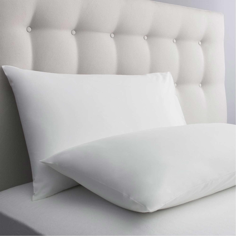 Μαξιλαροθήκη Ξενοδοχείου Φάκελος White 80% Cotton 20% Polyester 160TC 55X75 52x72cm