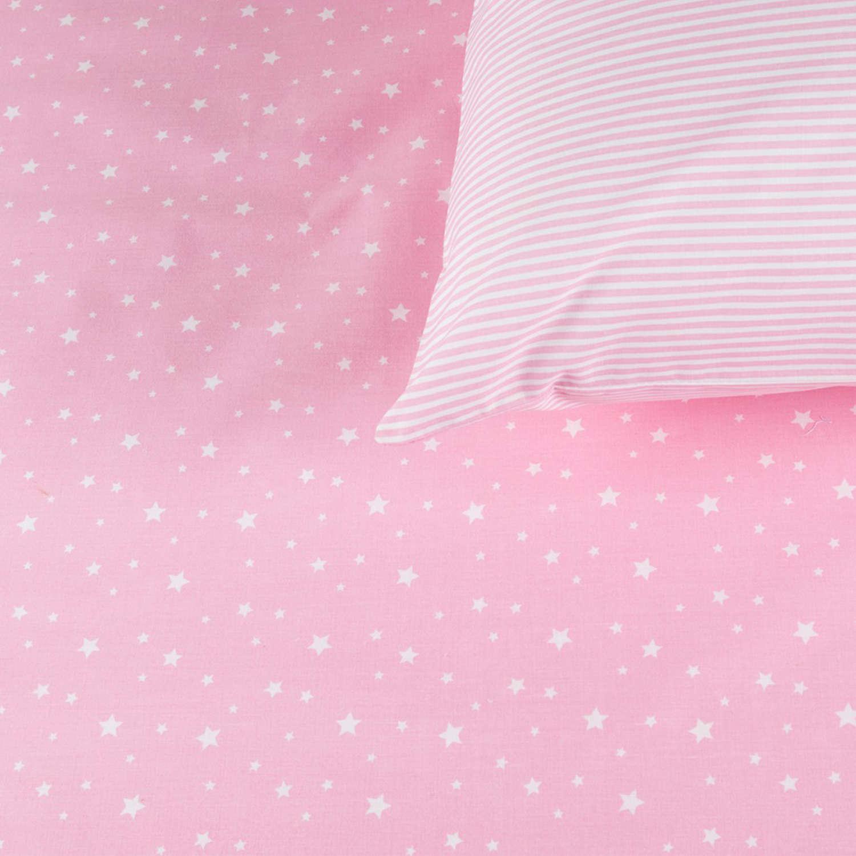 Σεντόνια Σετ 3Τμχ. Laura Σχ12 Light Pink Astron Μονό 165x260cm