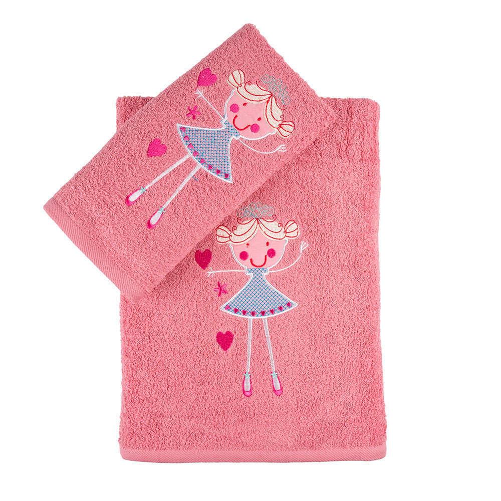 Πετσέτες Παιδικές Σετ 2Τμχ. Σε Κουτί Coral Astron Σετ Πετσέτες