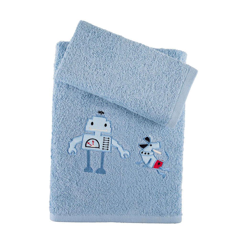 Πετσέτες Παιδικές Σετ 2Τμχ. Σε Κουτί Blue Raf Astron Σετ Πετσέτες