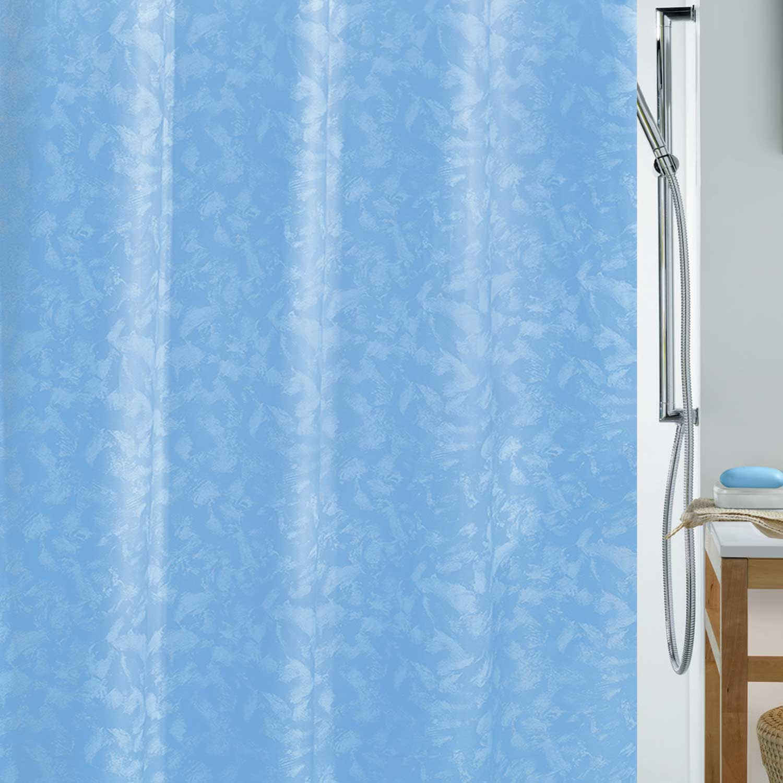 Κουρτίνα Μπάνιου Porto 02167.002 Light Blue 180X200cm Spirella Φάρδος 180cm 180x200cm
