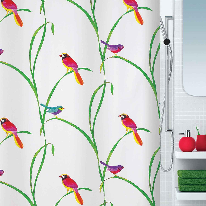 Κουρτίνα Μπάνιου Paradis 02463.001 Mult 180X200cm Spirella Φάρδος 180cm 180x200cm