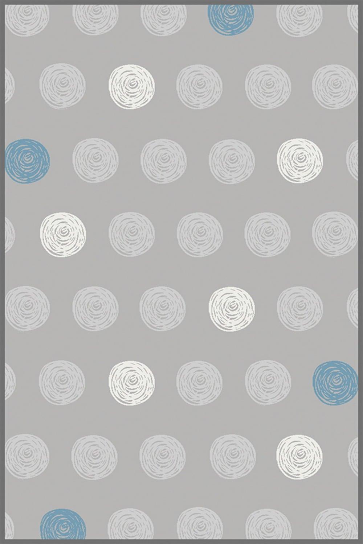 Χαλί Bambino Dots A653ACD Grey-White Ezzo 140X200