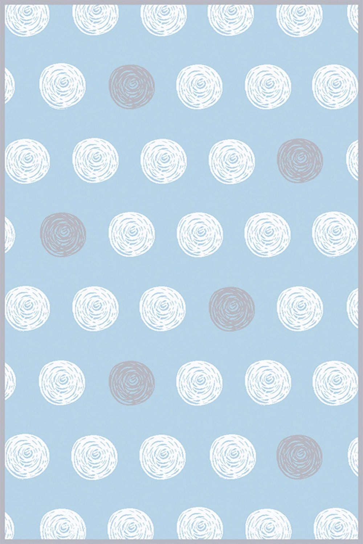 Χαλί Bambino Dots A653AXY Blue Light Blue Ezzo 140X200