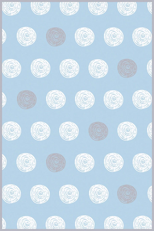 Χαλί Bambino Dots A653AXY Blue Light Blue Ezzo 160X230