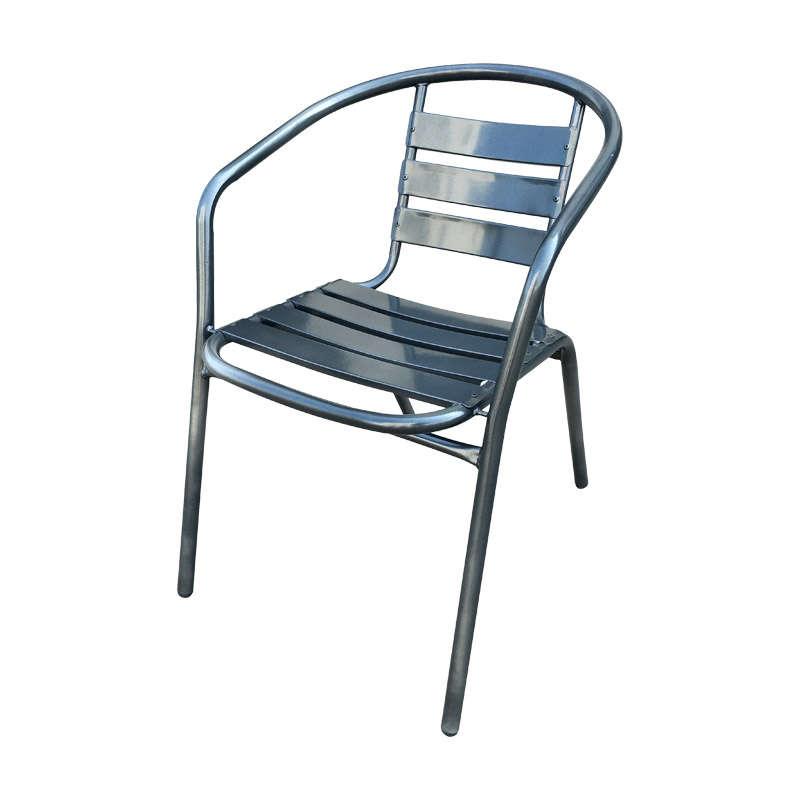 Καρέκλα 52x57x74cm Grey 327-00-091