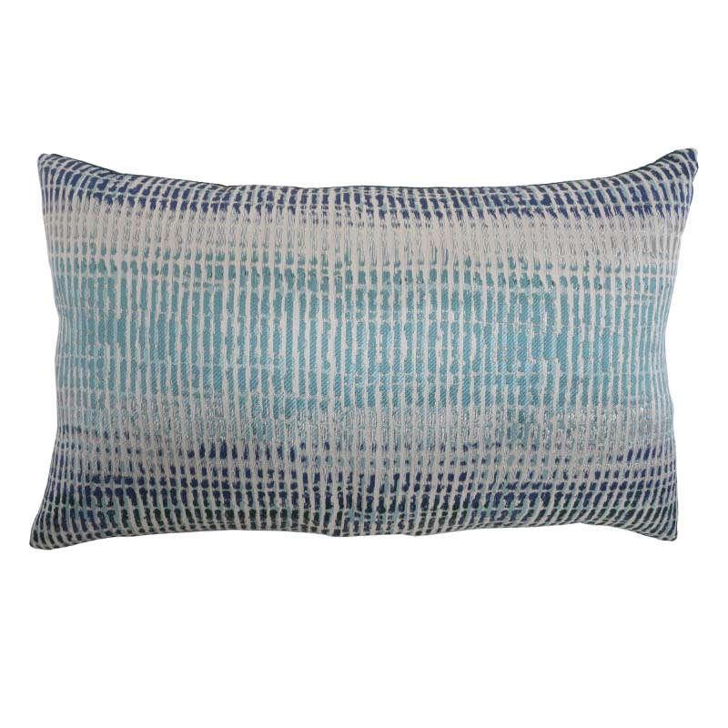 Μαξιλάρι Διακοσμητικό (Με Γέμιση) 261 Blue-Veraman Etiquette 30Χ50 Ύφασμα