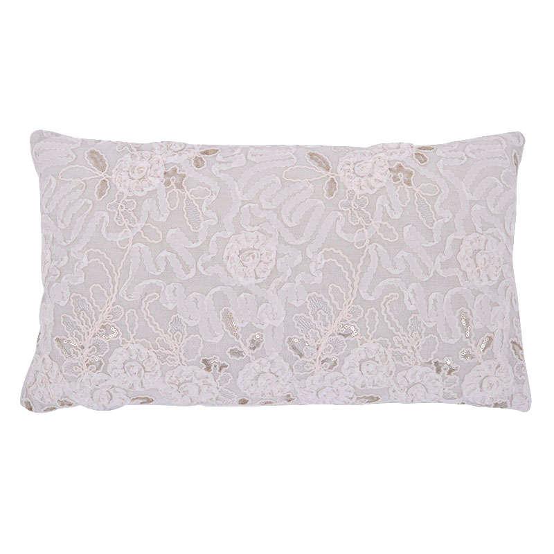 Μαξιλάρι Διακοσμητικό (Με Γέμιση) Beige 1-376-82-003 Etiquette 30Χ50 100% Polyester