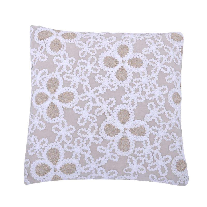 Μαξιλάρι Διακοσμητικό (Με Γέμιση) Beige 1-376-82-009 Etiquette 40Χ40 100% Polyester