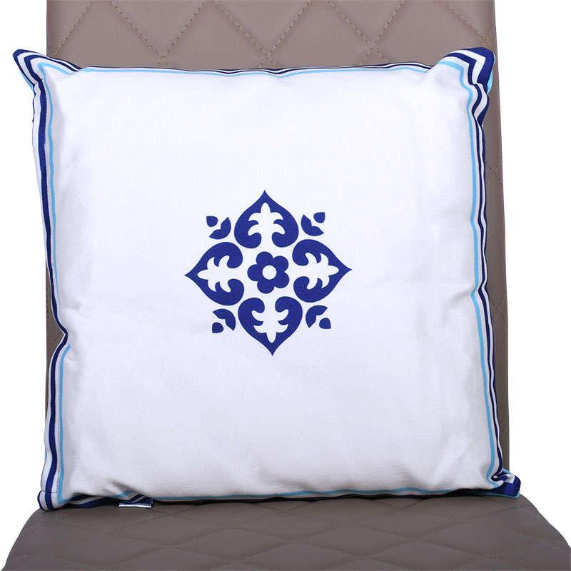 Μαξιλάρι Διακοσμητικό (Με Γέμιση) Turquoise 1-855-91-045 Etiquette 45X45 Ύφασμα