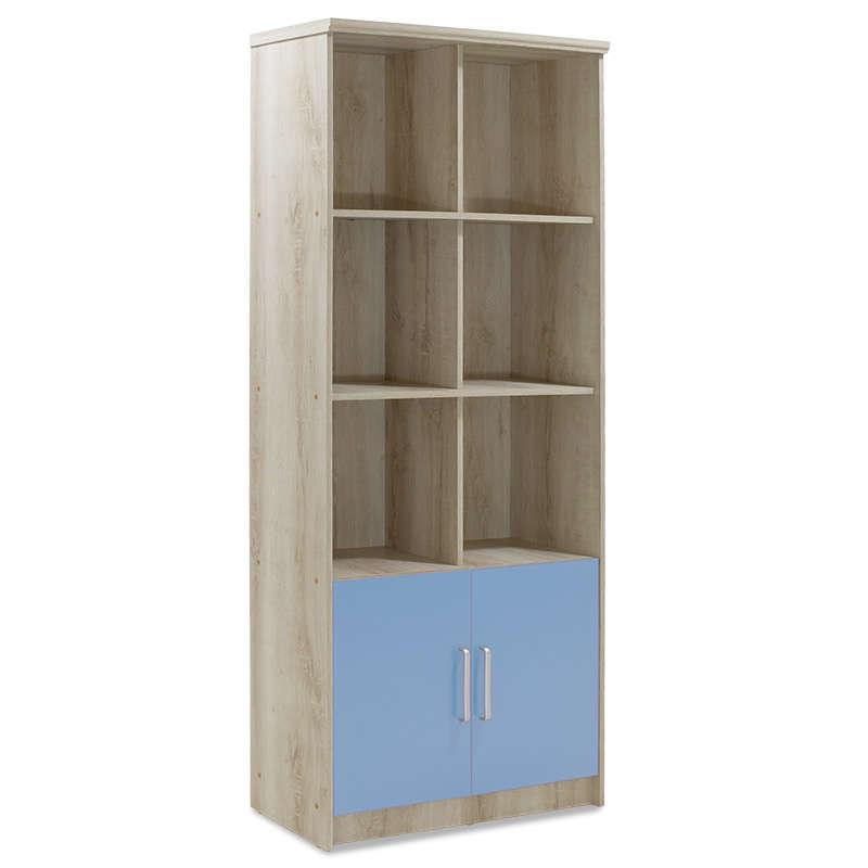 Βιβλιοθήκη Παιδική Looney Castillo-Μπλε 80,5X36,5X183,5Cm 123-000082