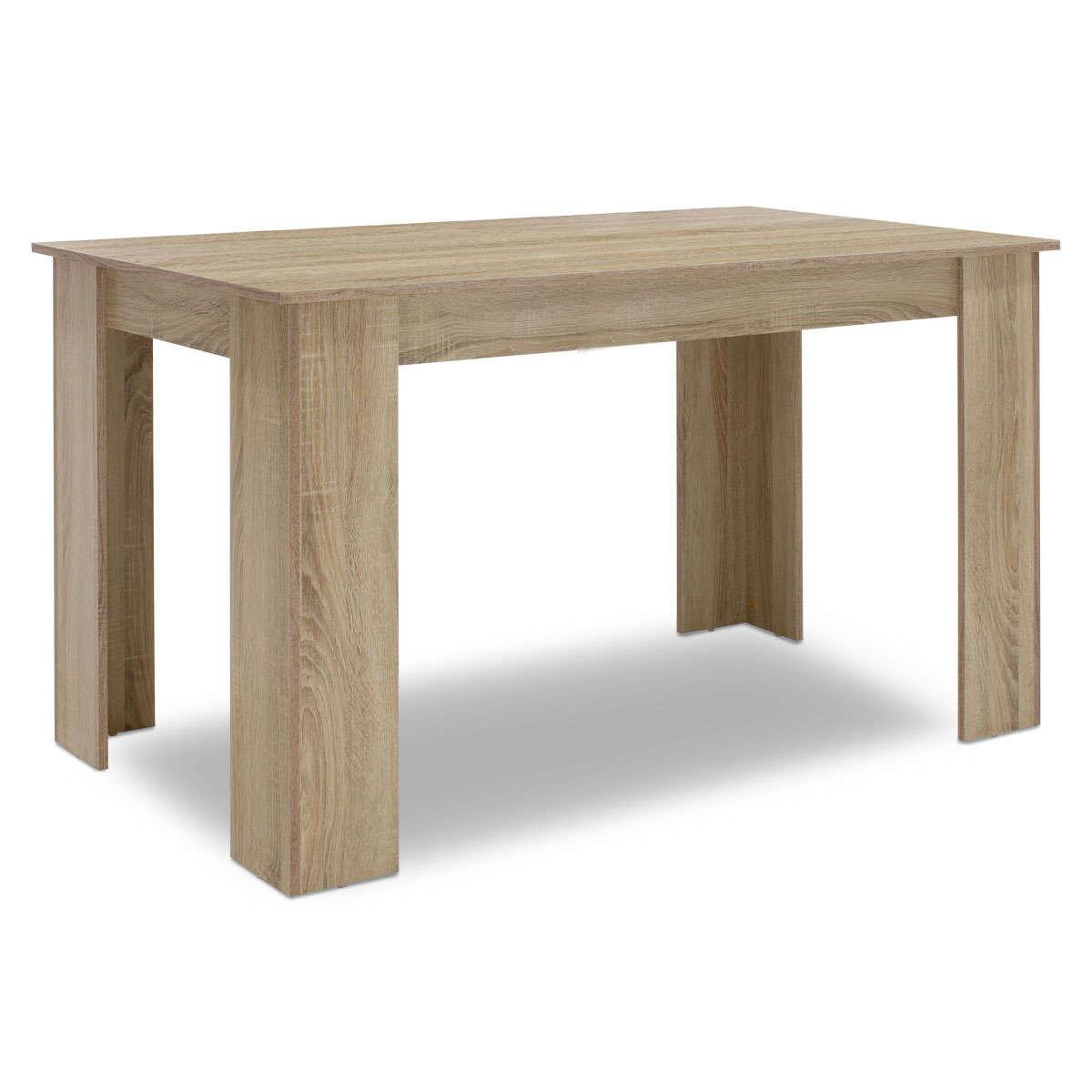 Τραπέζι Jason Sonoma 150X80X76,5Cm 123-000071