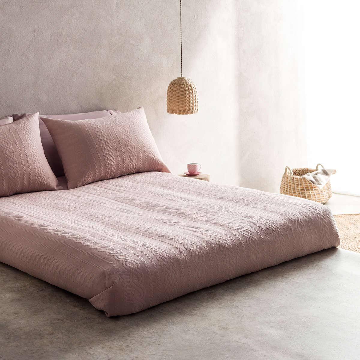 Κουβερτόριο Meche Pink 989B/17 Gofis Home Μονό 170x230cm