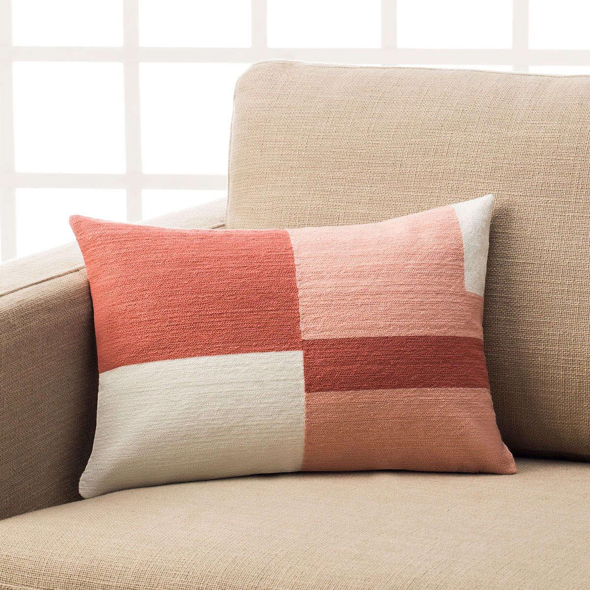 Μαξιλαροθήκη Διακοσμητική Eden Pink 808/17 Gofis Home 30Χ50 100% Polyester