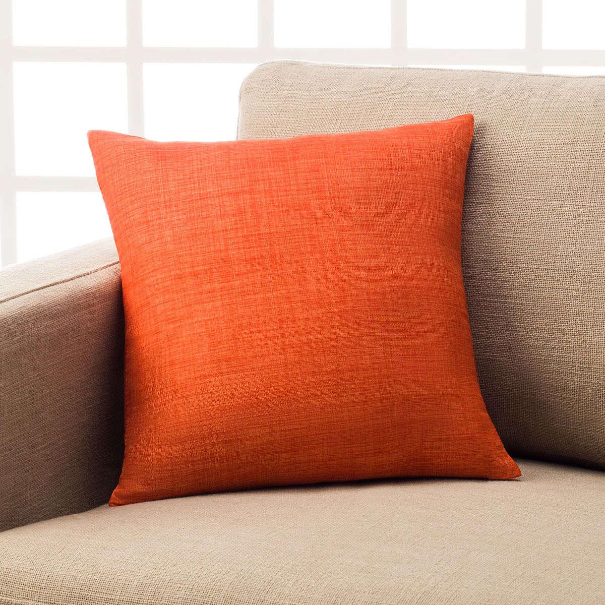Μαξιλαροθήκη Διακοσμητική Chrome Orange 930B/03 Gofis Home 45X45 100% Polyester