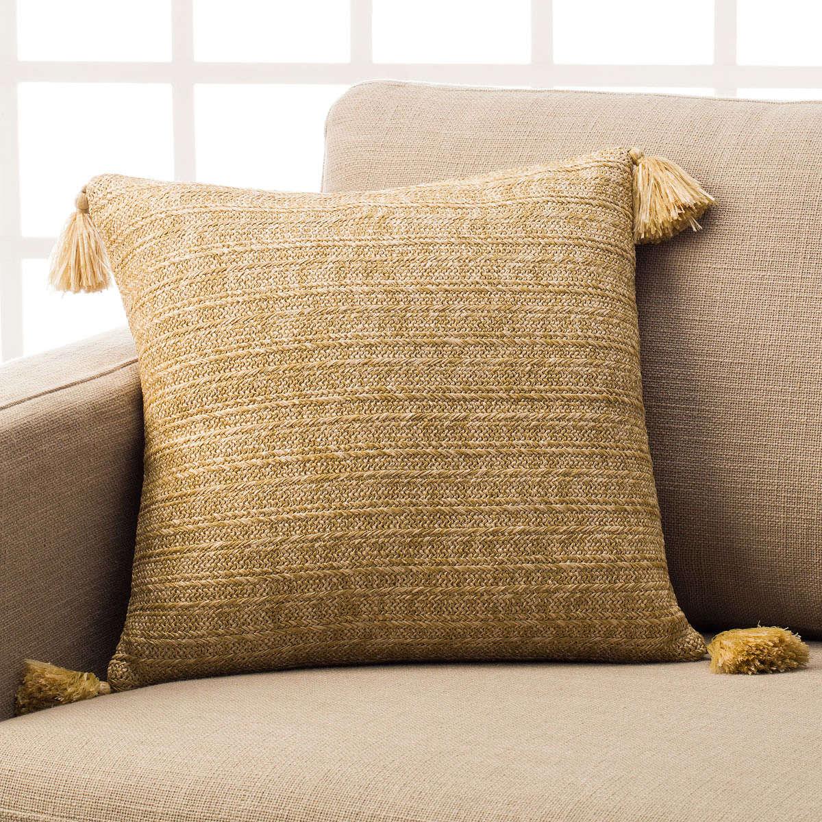 Μαξιλαροθήκη Διακοσμητική Pura Beige 459 Gofis Home 45X45 100% Polyester
