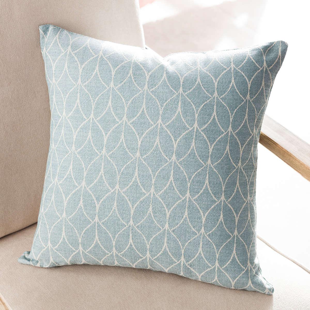 Μαξιλαροθήκη Διακοσμητική Lumien Aqua 517/11 Gofis Home 50X50 Βαμβάκι-Polyester