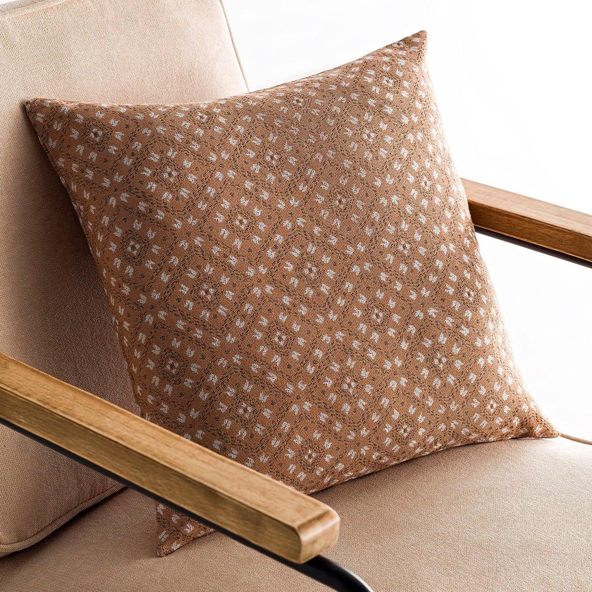 Μαξιλαροθήκη Διακοσμητική Lumien Brown 517/13 Gofis Home 50X50 Βαμβάκι-Polyester