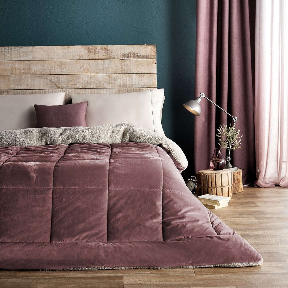 Κουβερτοπάπλωμα Teddy 407B/17 Apple Pink Gofis Home Μονό 160x220cm