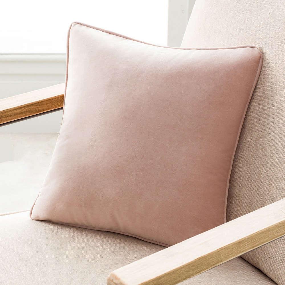 Μαξιλαροθήκη Διακοσμητική Winter 711A/25 43Χ43cm Powder Pink Gofis Home 45X45 100% Polyester