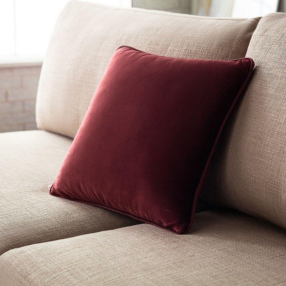 Μαξιλαροθήκη Διακοσμητική Winter 711A/ 12 Sangria Gofis Home 45X45 100% Polyester