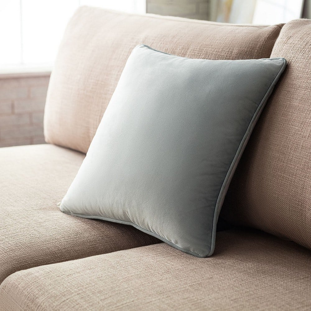 Μαξιλαροθήκη Διακοσμητική Winter 711A/ 01 Silver Gofis Home 45X45 100% Polyester
