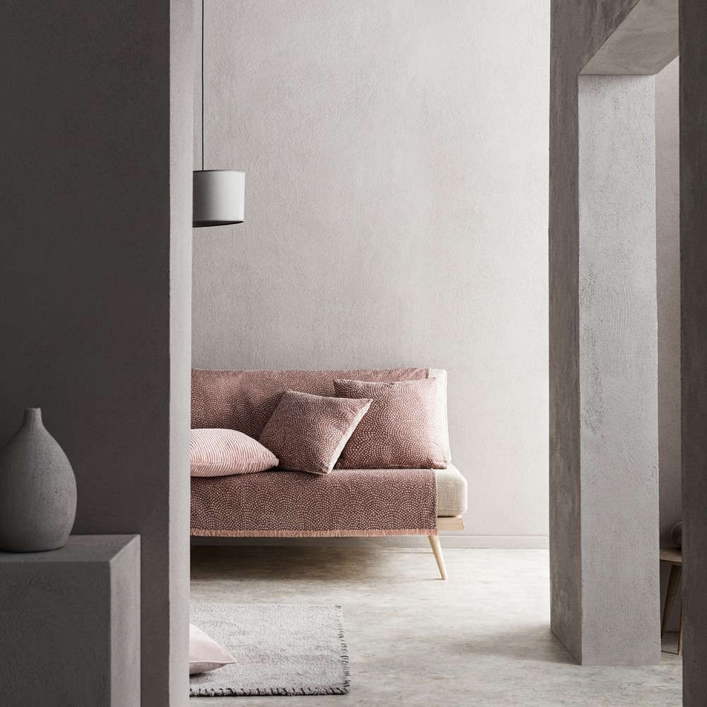 Ριχτάρι Que 960/17 Rose Pink Gofis Home Τετραθέσιο 180x350cm