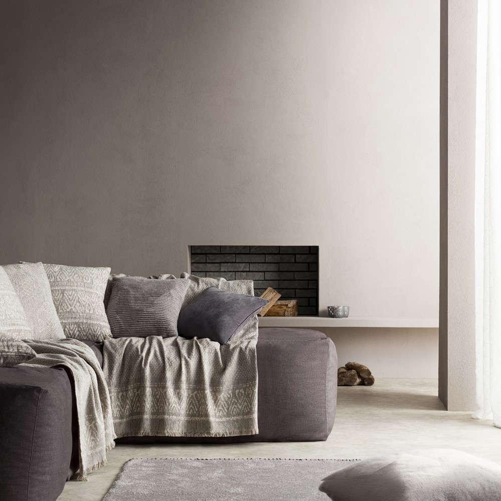 Ριχτάρι Reyan 551/15 Grey Gofis Home Πολυθρόνα 180x180cm