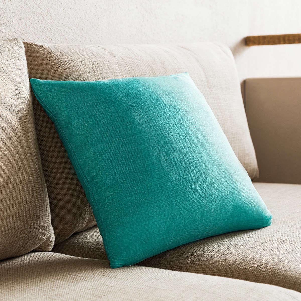 Μαξιλαροθήκη Διακοσμητική Chrome Turquoise 930B/24 Gofis Home 45X45