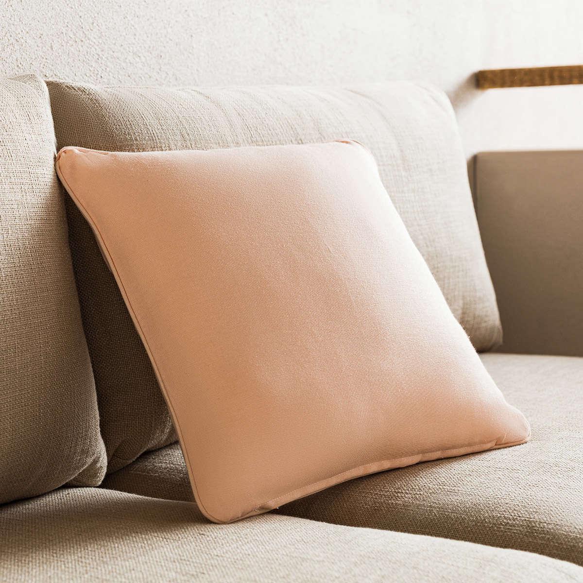 Μαξιλαροθήκη Διακοσμητική Colors Sweet Pink 911/27 Gofis Home 45X45 Βαμβάκι-Polyester