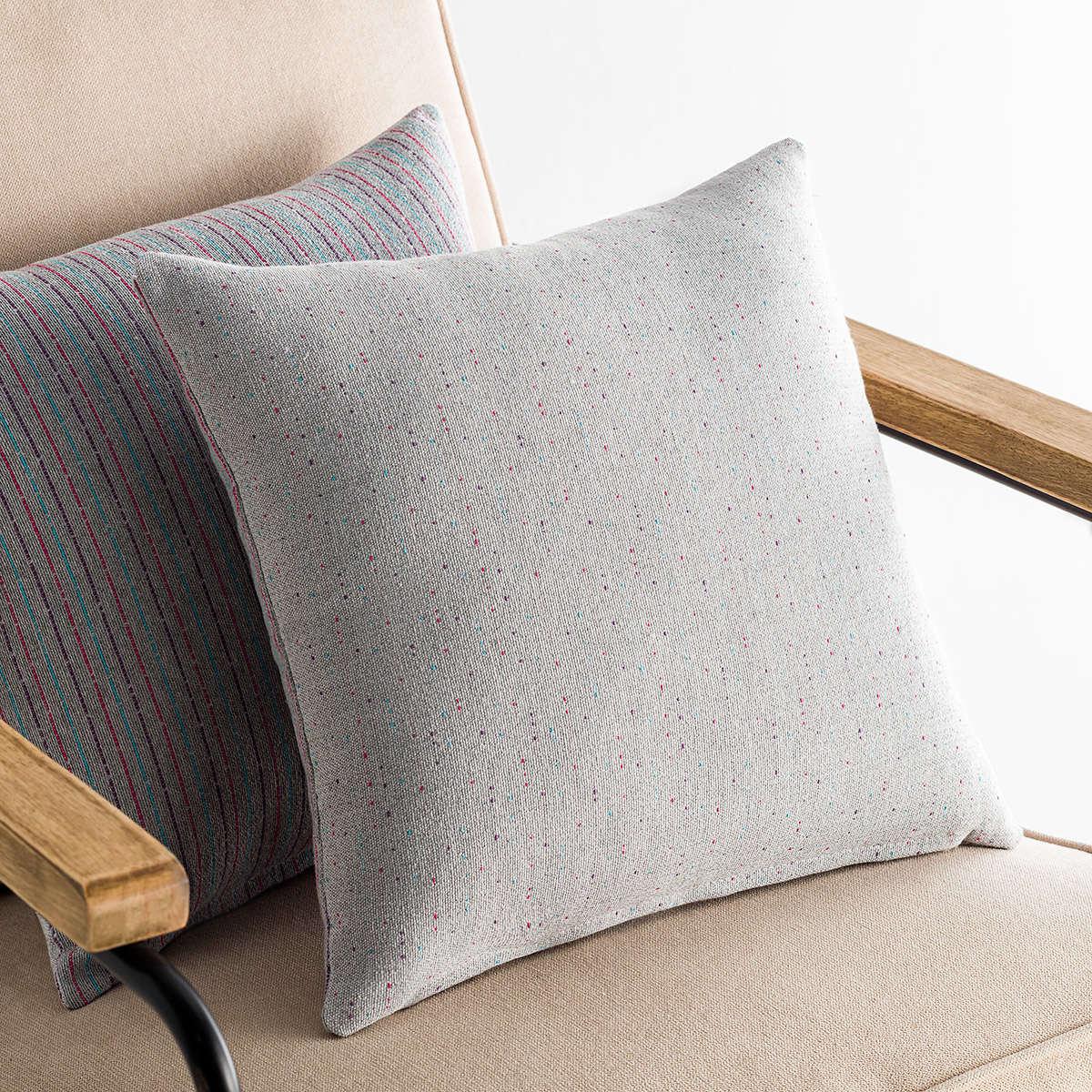 Μαξιλαροθήκη Διακοσμητική Dotly Grey 393/15 Gofis Home 50X50 Βαμβάκι-Polyester